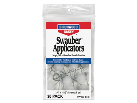 Birchwood Casey Swauber Applicators Package of 20