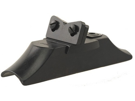 NECG Classic Rear Sight Base with Adjustable Elevation Blade Steel Blue
