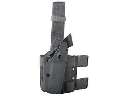 "Safariland 6004 SLS Tactical Drop Leg Holster Right Hand Springfield XD Service 4"" Polymer Foliage Green"