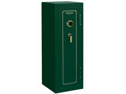 Stack-On Fire Resistant 14-Gun Safe with Combination Lock Matte Hunter Green
