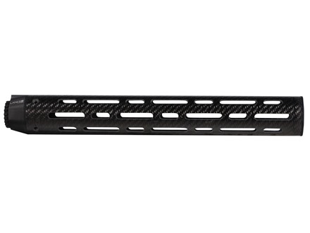 "Lancer Systems LCH7 Free Float Tube Handguard LR-308 Extended Rifle Length 15"" Vented Carbon Fiber"