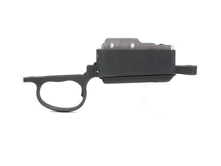 H-S Precision Gen 2 Trigger Guard and Detachable Magazine Assembly Remington 700 with Hinged Floorplate Short Action 308 Winchester 4-Round Stainless Steel Black