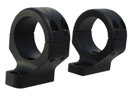 DNZ Hunt Master 2-Piece Scope Mounts with Integral Rings Savage 10 Through 16, 110 Through 116 Round Rear, Axis