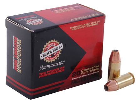 Black Hills Ammunition 9mm Luger 124 Grain Jacketed Hollow Point Box of 20
