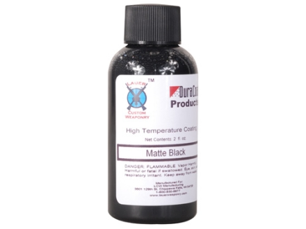 Lauer DuraHeat Firearm Finish Matte Black 2 oz