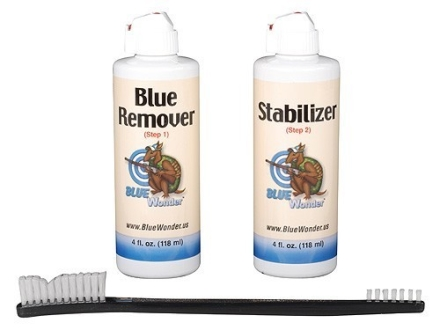 Blue Wonder Gun Blue Remover Kit