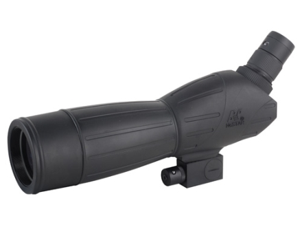 NcStar High Resolution Spotting Scope 15-45x 60mm Angled Body with Red Laser and Soft Case Black