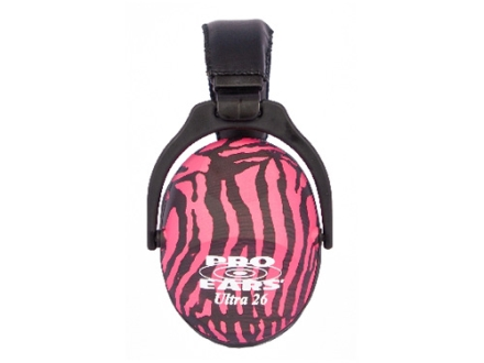 Pro Ears ReVO Earmuffs (NRR 26 dB) Pink Zebra