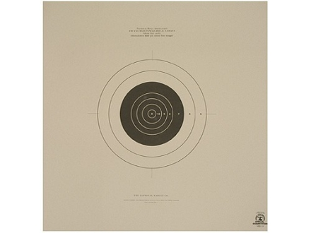 NRA Official High Power Rifle Target MR-31 100 Yard Slow Fire Paper Package of 100