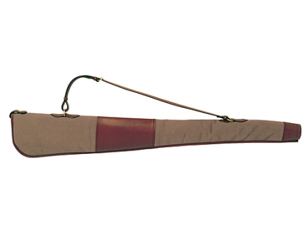 "Boyt Harness Estancia 48"" Shotgun Gun Case Leather/Canvas Khaki"