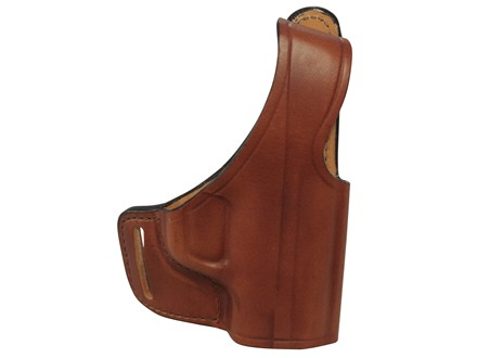 Bianchi 75 Venom Outside the Waistband Holster Right Hand Springfield XD-S Leather Tan