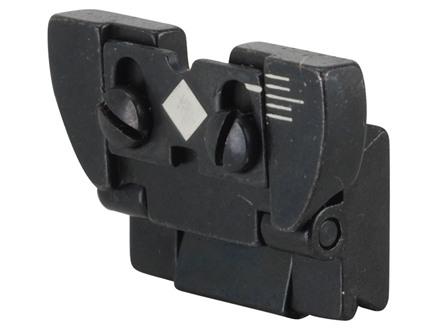 Ruger Rear Sight Complete Ruger 10/22 Magnum, 77 Mark II Standard, Sporter, International, Number 1 Light Sporter, Medium Sporter, Tropical, International, 96/44 Magnum