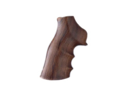 Hogue Fancy Hardwood Grips with Finger Grooves Ruger GP100, Super Redhawk Rosewood