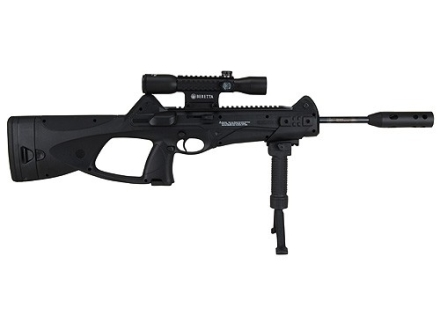 Beretta CX4 Storm XT Air Rifle 177 Caliber Black Synthetic Stock Blue Barrel with Scope 4x 32mm Matte
