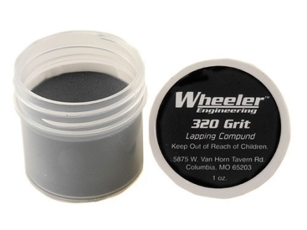 Wheeler Engineering Lapping Compound 320 Grit (Smoothing) 1 oz