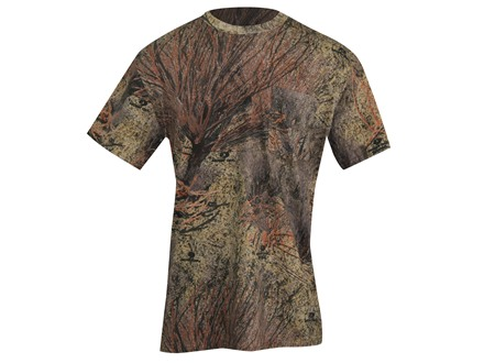 Russell Outdoors Men's Explorer T-Shirt Short Sleeve Cotton Mossy Oak Brush Camo XL 46-48
