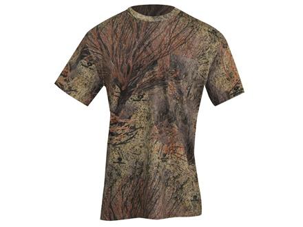 Russell Outdoors Men's Explorer T-Shirt Short Sleeve Cotton Mossy Oak Brush Camo XL 46-48