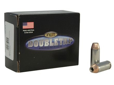 Doubletap Ammunition 10mm Auto 150 Grain Nosler Jacketed Hollow Point