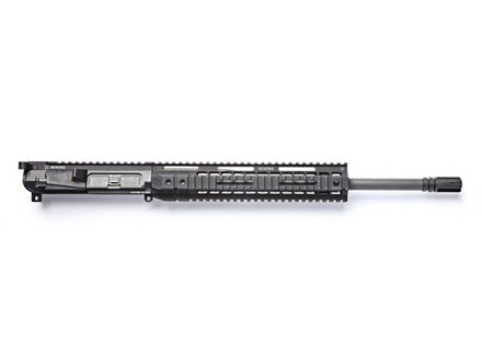 "Noveske AR-15 Light Recce Lo-Pro A3 Flat-Top Upper Assembly 5.56x45mm NATO 1 in 7"" Twist 16"" Barrel Chrome Lined CM Matte with NSR-13.5 Free Float Handguard, AAC Blackout Flash Hider"