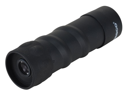 Tasco Monocular 10x 25mm Rubber Armored Black