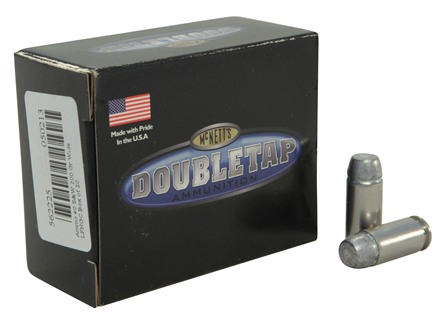 Doubletap Ammunition 40 S&W 200 Grain Lead Wide Flat Nose Gas Check