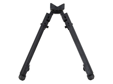 "Advanced Technology Universal Featherweight Adjustable Bipod with Sling Swivel Stud Mount 9"" to 13"" Black"