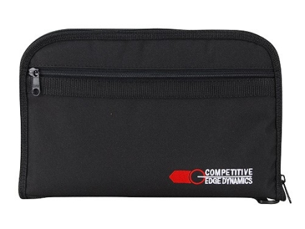 "CED Pistol Gun Case 6-1/4"" Barrel Nylon Black"