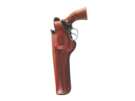 "Bianchi 5BHL Thumbsnap Holster Left Hand Colt Detective Special, Ruger SP101 2"" to 2-1/4"" Barrel Suede Lined Leather Tan"