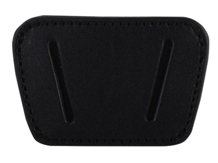Personal Security Products Belt Slide Holster Fits Small to Medium Frame Automatic Handguns Leather Black