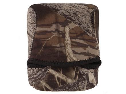 CrossTac Binocular Cover Small Roof Prism Neoprene Reversible Black, Mossy Oak Break-Up Camo