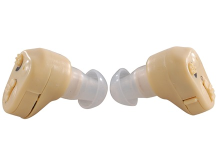 Walker's Ultra Ear ITC Electronic Ear Plugs Beige Pair