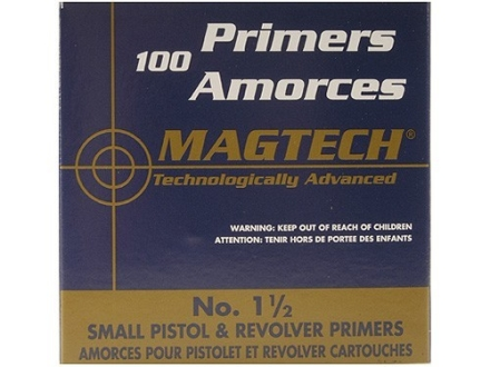 Magtech Small Pistol Primers #1-1/2