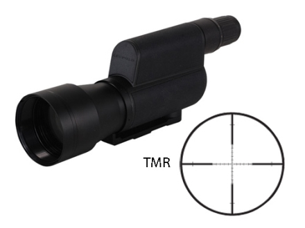 Leupold Mark 4 Tactical Spotting Scope 20-60x 80mm First Focal TMR Reticle Armored Black