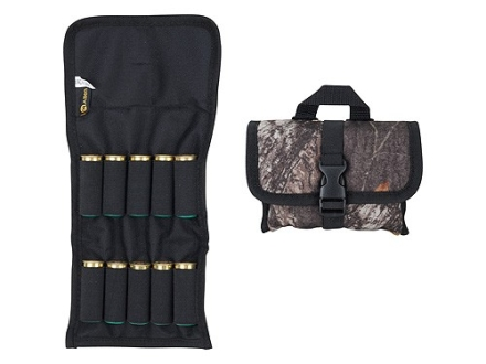 Allen Ammo Pouch Belt Slide Folding Shotshell Ammunition Carrier 10-Round Nylon Advantage Timber Camo