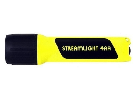 Streamlight 4AA Propolymer Flashlight Blue LED Polymer Yellow