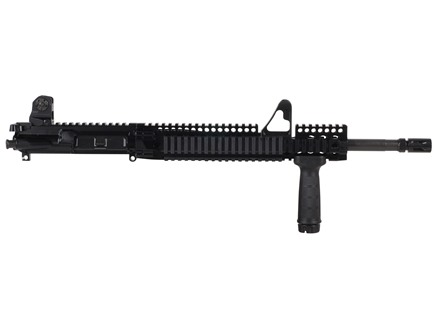 "Daniel Defense AR-15 DDM4v1 A3 Flat-Top Upper Assembly 5.56x45mm NATO 1 in 7"" Twist 16"" M4 Barrel Chrome Lined CM with DDM4 12.0 FSP Quad Rail Free Float Handguard, Flash Hider"
