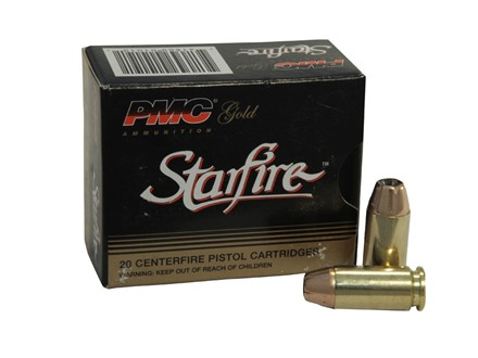 PMC Gold Ammunition 40 S&W 180 Grain Starfire Hollow Point Box of 20