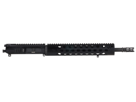 "JP Enterprises AR-15 Dual Charge Upper Assembly 223 Remington 1 in 8"" Twist 16"" Lightweight Barrel Black Teflon 12.5"" Free Float Handguard, Low Profile Adjustable Gas Block, Compensator, Full Mass B"
