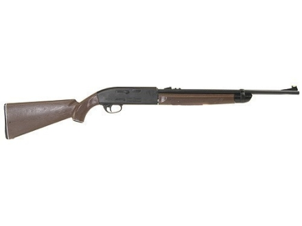 Crosman 2100 Classic Air Rifle 177 Caliber BB and Pellet Brown Synthetic Stock Blue Barrel