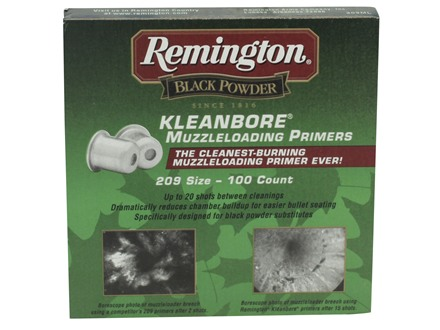 Remington Primers # 209 Muzzleloading