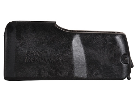 Browning Magazine Browning X-Bolt Short Action Magnum (325 WSM, 300 WSM, 7mm WSM, 270 WSM) 3-Round Polymer Black