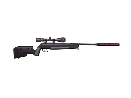Benjamin Jim Shockey Legacy Nitro Piston Break Barrel Air Rifle 177 Pellet Caliber Black Synthetic Stock Matte Barrel with 3-9x40mm Scope