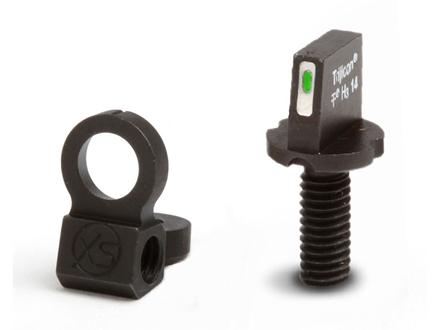 XS 24/7 Tactical Night Sight Set AR-15 Steel Matte Tritium Bar Front, Ghost Ring Rear