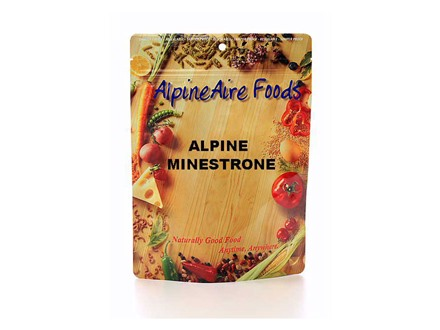 AlpineAire Healthy Hearty Alpine Minestrone Freeze Dried Food 2 Servings