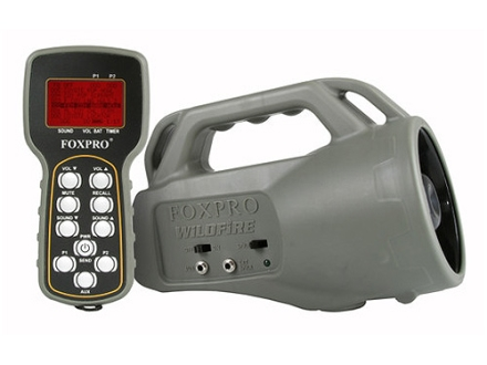 FoxPro Wildfire 2 Electronic Predator Call with 35 Sounds OD Green