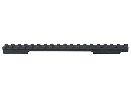 EGW 1-Piece Picatinny-Style Base Savage 110 Through 116 Round Rear, Axis Long Action, 220 Slug Gun Matte