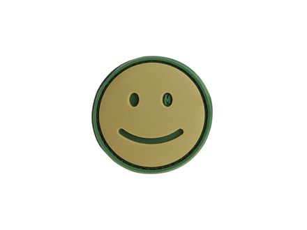 "Maxpedition Happy Face Tan and Green 1.5"" x 1.5"""