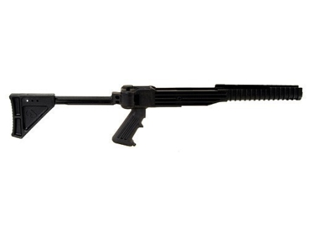 Ram-Line Pistol Grip Folding Rifle Stock Ruger Mini-14, Mini-30 Synthetic Black