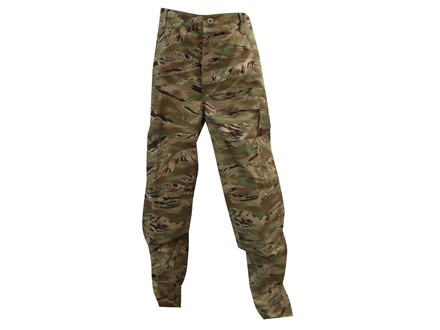 Tru-Spec BDU Pants Nylon Cotton Ripstop All Terrain Tiger Stripe
