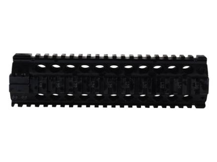 Midwest Industries Gas Piston Free Float Tube Handguard Quad Rail AR-15 Aluminum Black